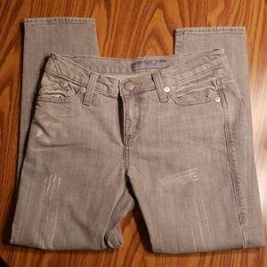 Rock & Republic gray cropped Hamburg jeans sz 2
